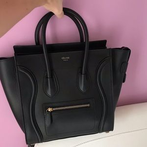 Celine Micro luv smooth leather never used